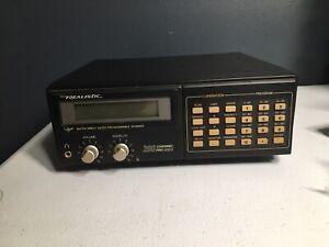 Realistic 200 Channel Scanner, Pro-2022 Radio Shack Vintage