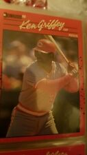 Ken Griffey Cincinnati Reds Donruss 1990 Leaf Cards Ungraded