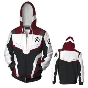 The Avengers 4 Endgame Advanced Tech Hoodies 3D Print Jacket Sweatshirt Pants