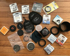 Camera Accessories Lot Lenses, filters, etc. Used W/ Minolta Maxxum 70