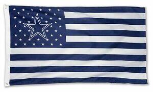 Dallas Cowboys - America's Team Flag / Banner - 3 Ft x 5 Ft - NFL