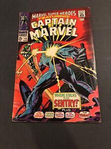 Marvel Super-Heroes #13 MEGA KEY! 1st App Carol Danvers 2nd Captain Marvel ✨✨✨