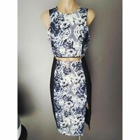 $120 worn once!  Milk and Honey myers size 10 pencil dress thigh split