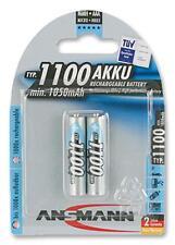 Batteries - Rechargeable - BATTERY NIMH AAA 1100MAH PK2