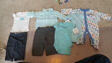 Lot of Boys 3 Months Carter's and First Moments Clothes, 2 outfits, one piece...