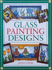 Glass Painting Designs by Janet Eadie (Paperback, 2000)