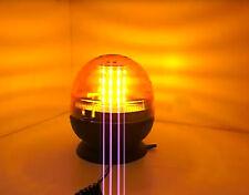 12V 24V LED Rundumleuchte Warnleuchte PKW LKW Blinkleuchte Pannenlicht Magnet
