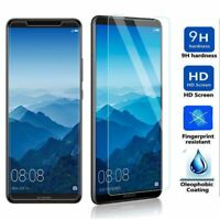 2018 TEMPERED GLASS SCREEN PROTECTOR COVER FOR HUAWEI  P Smart / MATE10 Pro
