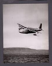 SHORT SUNDERLAND FLYING BOAT LARGE VINTAGE PHOTO RAF 1950