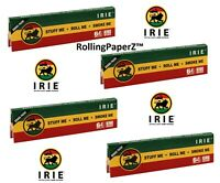 4X Packs of IRIE Light Hemp Cigarette Rolling Papers KING SIZE - 64 leaves each