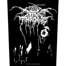 More details for official licensed - darkthrone - transylvanian hunger back patch black metal