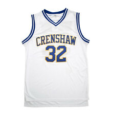 Love and Basketball #32 Monica Wright Jersey Sanaa Lathan White Color SizeS-3XL