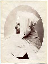 Photo F. Soler - Tunisie - Alli - Tirage albuminé d'époque 1880 -