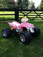 RIDE ON QUAD BIKE KIDS PINK GIRL ELECTRIC CHILDRENS 12V ATV BATTERY CAR SCOOTER