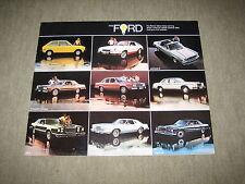 1978 Ford LTD / Fairmont / Granada / Pinto / Mustang II USA Prospekt Brochure