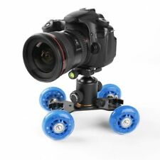Flexible Rail Rolling Track Slider Skater Dolly Car Speed-lite DSLR Camera rig