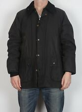 "BARBOUR Bedale Wax Jacket 44"" Large XL Black  (C4F)"