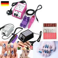 20000 RPM Nagelfräser Elektrische Set 3 Farben Für Gel Nägel NAIL ART Maniküre