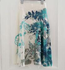 Monsoon Silk Floral Flippy, Full Skirts for Women