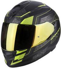 Casco Scorpion Exo-510 Air galva Matt Black-neon Yellow talla XL