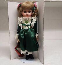 MA17 Leonardo Collection Porcelain Doll Sinead Vintage Doll