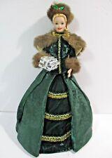 Barbie Holiday Caroler Porcelain Doll in Original Box- Limited Ed Christmas 1996