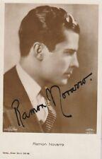 Ramon Novarro - autograph vintage rare ROSS 1892/1 card Autogramm - 1927