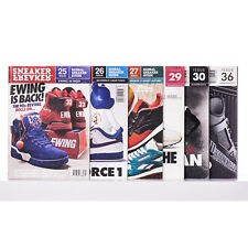 Set 6x SNEAKER FREAKER BOOGAZINE Issue 25 26 27 29 30 36 Book Lotto Sneakers