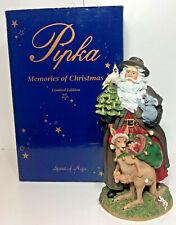 Pipka Aussie Santa 1996 W/ Box Limited Edition 722/3600 Memories of Christmas