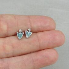 925 Sterling Silver Arrowhead Post Earrings - Southwestern Stud Earrings NEW