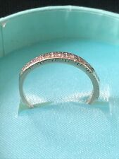 18ct White Gold Eternity Ring Size S
