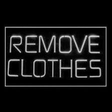 180086 Remove Clothes Crazy One  Night Stand Sexy Lady Relax LED Light Sign
