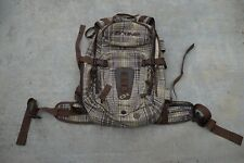 DaKine Helipro Snowboard Backcountry Backpack Brown/Green/Grey Plaid *LN*