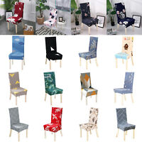 Elastic Stretch Dining Chair Covers Slipcovers Removable Chair Protective Cover