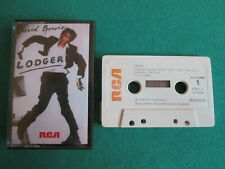 LODGER - DAVID BOWIE - CASSETTE ALBUM - RCA BOW K1 PK 13254