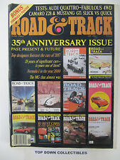 Road and Track Magazine  June 1982  Salon: Porschie 356-1 Granddaddy Of All