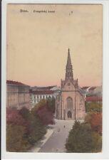 AK Brno, Brünn, Evangelicky kostel, 1917