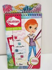 Crayola Creations - Fashion Sketch Set - includes: Stencils & Stickers    {NEW}