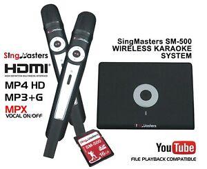 SingMasters Magic Sing Karaoke Machine Player,30 Languages Editions to Choose