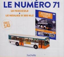 HEULIEZ O 305 HLZ NANTES HACHETTE 1 43 NEUF + FASCICULE BUS AUTOBUS FRANCE