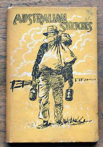 OLD BOOK  Australian Sketches 1945  Author's experiences travelling Australia