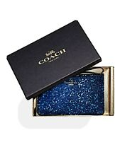 COACH BOXED WRISTLET WITH GLITTER STAR PRINT