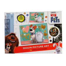 Secret Life of Pets - Sequin Picture Art, Create with Numbers