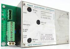 Rinck APU 24-3/6,5ah Alimentazione Alimentatore Power Supply in 230vac out 24vdc