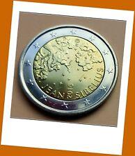 2 Euro Gedenkmünze Finnland 2015 - 150. Geburtstag von Jean Sibelius - Neu
