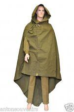 Genuine Russian Soviet Red Army Rain Cape, Poncho Coat, Plash-Palatka.