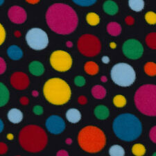 Patterned Polar Fleece Fabric  Sold By The Meter / 5 Meters