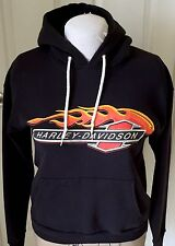 Harley-Davidson Hoodie Fern Park Florida 1993 Made USA Men's Medium Black