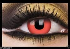 DRACULA one day lentille de couleur lens rouge contact halloween vampire red