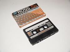 VINTAGE Ross rxi c30 lettera NASTRO ~ AUDIO CASSETTE ~ NUOVO